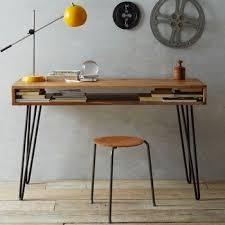 stylish office desk. Modern Wooden Desk Metal Legs Stylish Office U