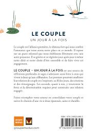 Livre Le Couple Un Jour à La Fois Citations Et Affirmation