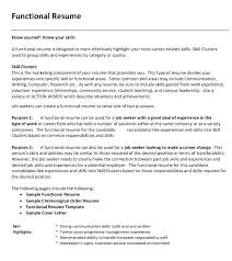 Functional Resume Template For Career Change 12 Magnolian Pc