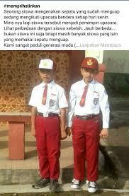 kisah sepatu menguap bocah sd di cianjur viral kisah sepatu menguap bocah sd di cianjur