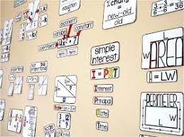 It truly does many a transformative difference, and you won't have to spend a lot of money. Scaffolded Math And Science Math Classroom Decoration Ideas