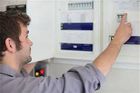 electrician fixing fuse box stock photos page 1 masterfile electrician fixing fuse box electrician examining control panel stock photo premium royalty