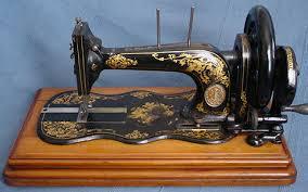 Fiddle Base Sewing Machine