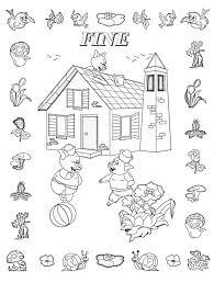 Colora Fiaba Tre Porcellini 4 Disegni Per Bambini Da Colorare Disegno