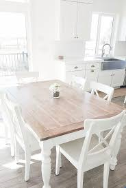 white dining room table michalchovanec with regard to likeable white oak dining table