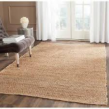 safavieh handmade cape cod natural jute rug 9 x 12