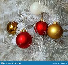 Garland With Red And White Lights Red Silver Christmas Decoration Colorful Ideas Red Silver