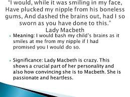 Important Quotes That Shape Macbeth Ppt Video Online Download Classy Lady Macbeth Quotes
