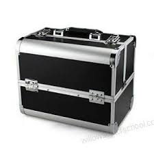 Buy IAS <b>Portable Large Capacity</b> Cosmetic Organizer Vanity Box ...