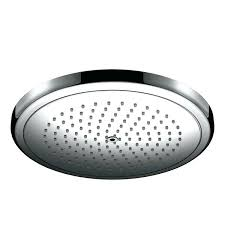 single function rain shower head with quick clean and right technologies n a free today hansgrohe rain shower head