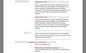 Resume Resumes Free Blank Resume Templates For Microsoft Word