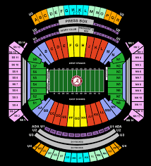 Alabama Crimson Tide Stadium Seating Chart Bryant Denny Stadium Seating Chart
