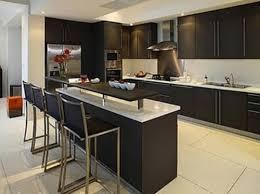 Modern Kitchen With Bar Modern Kitchen With Breakfast Bar Kitchen And Decor