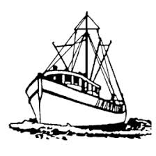 Small Picture Outline Of Fishing Boat Clipart ClipartFest Lobster Boat Coloring