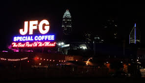 Not sure if it's still here. Jfg Coffee Sign Up For Sale Charlotte Stories