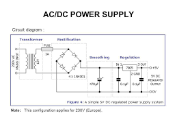 alternating current diagram. 6 ac/dc power supply circuit diagram : alternating current