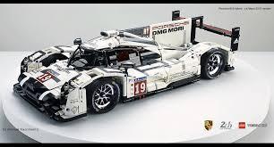 Amazing Fan Built Lego Technic Porsche 919 The 2015 Le Mans Winner