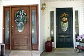 what color should i paint my front doorPicking the Right Front Door Color Before and After Case Studies
