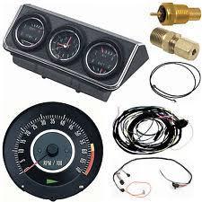 1967 camaro gauges oer 1967 camaro console gauges w wiring tach 6000 at fs