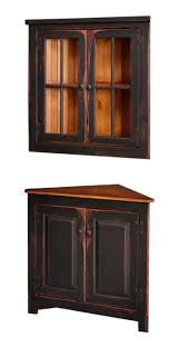 corner hutch dining room. honey brook corner hutch with optional hanging top dining room i