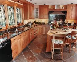 Kitchens Floor Slate Floor Home Designs Tags Butcher Block Granite