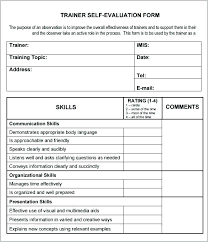 Training Feedback Template Form Excel – Davidpowers