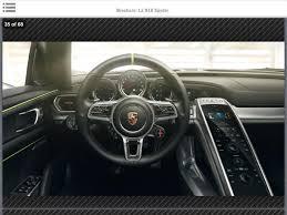 2014 porsche 918 spyder interior. porsche 918 spyder brochure leaked 2014 interior t