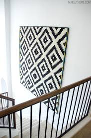 how to hang a rug on the wall how to hang a rug on a wall