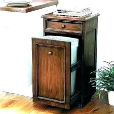 tilt out storage cabinet trash can storage cabinet tilt out sh bin kitchen garbage plans wood