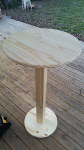 diy round outdoor table. Bar Height Pub Table - Cheap! Diy Round Outdoor Table