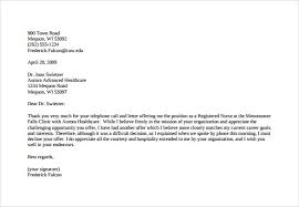 Counter Offer Letter Sample | Template Business