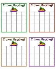 Reading Sticker Chart Reading Sticker Chart Freebie
