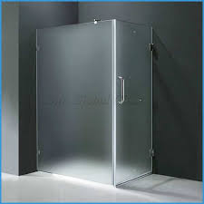 10mm frosted tempered glass shower door glass acid etched tempered shower door glass 10mm toughened