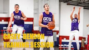 GCU PG Casey Benson | Training Session - YouTube