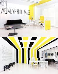 creative office. Creative Office Space Typography   Yellow Room Interior Inspiration: 55+ Rooms For Your Viewing Pleasure