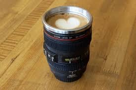 Camera Lens Mug - Looks Like Your Fav. Canon Lens!