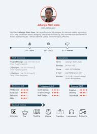 Creative Resume Templates 2018