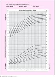 Pediatric Growth Chart Percentile Boys Height Weight