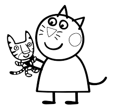More cartoon characters coloring pages. Peppa Pig Coloring Pages Coloring Rocks
