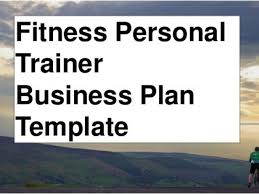 Personal Trainer Business Plans Anytime Fitness Business Plan Template Fitness Personal Trainer