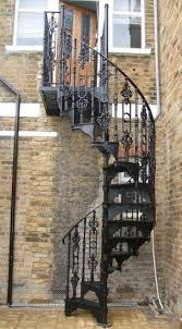 Cast Iron Spiral Staircase Old Spiral Staircase