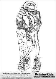 Small Picture Monster High Abbey Coloring Pages GetColoringPagescom