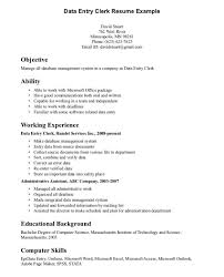 Resume Examples For Clerical Positions Essay On Domestic Animals