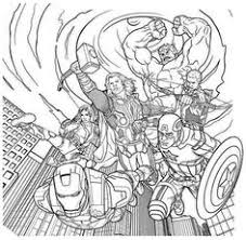Small Picture The Avengers Coloring Pages 5 This and that and some more of