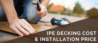 ipe decking cost and installation