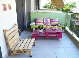 outdoor pallet furniture ideas. Inspirational Diy Outdoor Pallet Furniture For Colorful The Balcony 43 . Ideas