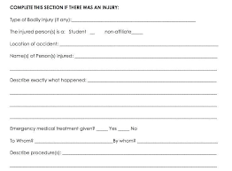 incident report example non injury incident report template accident incident report