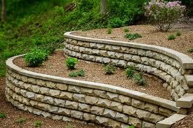 stonebridge retaining wall block by rosetta hardscapes at benson stone co in rockford il