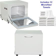 towel warmer cabinet. Compact 2-in-1 Towel Warmer \u0026 Ultraviolet Sterilizer Cabinet With 12 Facial Towels