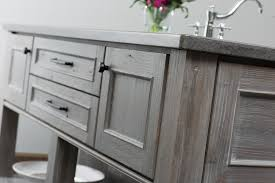 Gray Stained Kitchen Cabinets Dramatic Distressed Cabinet Finishes From Dura Supreme Dura
